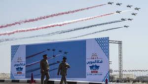 مصر تفتتح قناة السويس الجديدة للملاحة الدولية رسمياً