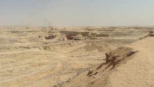 عمليات الحفر في قناة السويس الجديدة