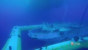 مركب مهاجرين غرق في المتوسط تحول امقبرة تحت الماء