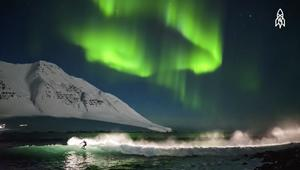 مصّور تحدى التجمد القطبي بأقوى عاصفة