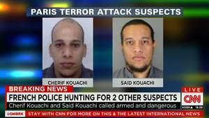المشتبه بهما في تنفيذ الهجوم الذي استخدف صحيفة تشارلي إيبدو