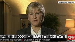 مارغوت وولستروم، وزيرة خارجية السويد
