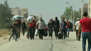 النظام السوري يسمح بخروج محاصرين في المعضمية