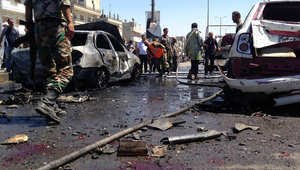 سوريا.. 45 قتيلاً بينهم 41 طفلاً بتفجير مزدوج قرب مجمع مدارس بحمص