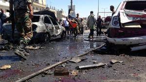 سوريا.. مقتل 14 شخصا في تفجير مزدوج بحمص وداعش يدعى المسؤولية