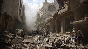 """غارات فرنسية على معقل """"داعش"""" وأنباء عن تدمير 20 موقعاً"""