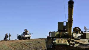 """دمشق تعلن مقتل """"والي داعش"""" بالمنطقة الوسطى"""" واستعادة قوات النظام لحقل نفطي بحمص"""