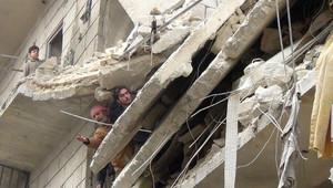 مشاهد من الدمار في مدينة حلب