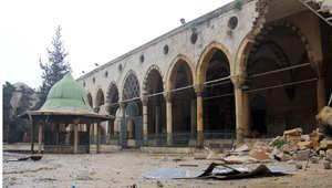 صورة لأحد المعالم الأثرية بسوريا