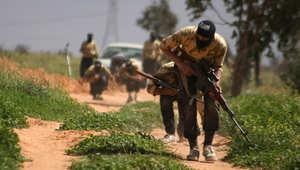 مقاتلون ضد نظام الأسد