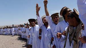 أفغان يشاركون في فعالية انتخابية بالعاصمة كابول