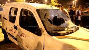 شغب جماهيري في طنجة بالمغرب.. إصابة رجال أمن واعتداء على الممتلكات