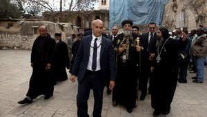الكنيسة القبطية: البابا تواضروس دخل القدس بدون تأشيرة إسرائيلية