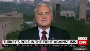 السفير الأمريكي الأسبق بتركيا لـCNN: حزب الـPKK أعلن الحرب على تركيا.. وأمريكا لطالما وقفت لجانب أنقرة ضده.. والـPYD بسوريا مختلف