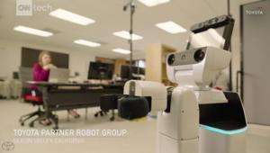 روبوت لمساعدة المسنين وذوي الاحتياجات الخاصة