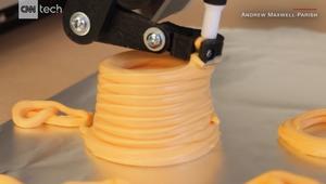 هذا ما تفعله الطباعة ثلاثية الأبعاد بالجبنة!