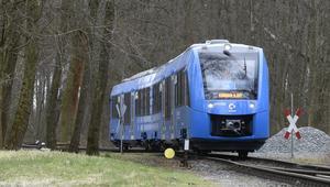 هذاأول قطار يعمل بالهيدروجين عوضاً عن الديزل!
