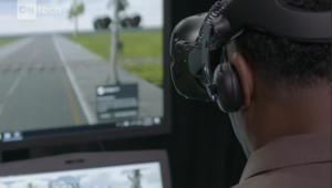 شركة شحن تدرب سائقيها بواسطة الحقيقة الافتراضية