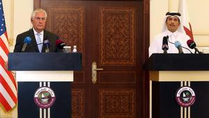 تيلرسون: قطر واضحة في مواقفها.. ومذكرة التفاهم بيننا تمثل تقدما لحل الأزمة بالمنطقة