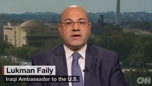 سفير العراق بأمريكا لـCNN حول وجود رغبة بعمليات روسية داخل العراق على غرار تلك بسوريا: نحن بحاجة لكل دعم ممكن بمعركتنا مع داعش
