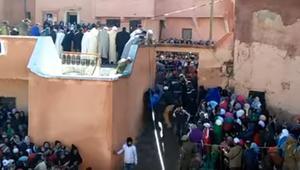 "انتقادات لواقعة افتراس جمل حي بـ""موسم"" مغربي"