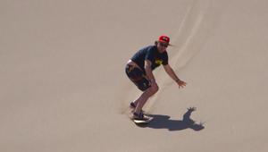 تعرف إلى متعة التزلج على الرمال