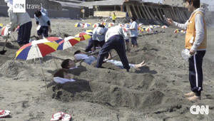 حمام رمال بركانية على الشاطئ..هل تجربه؟