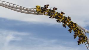 """هل تجرؤ؟ شاهد ما التقطته كاميرا """"GoPro"""" لتجربة ركوب أفعوانية عالم فيراري الجديدة"""