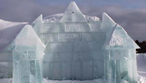 فندق مصنوع كلياً من الجليد.. يُبنى بشهرين