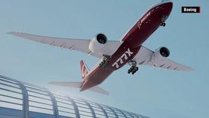 من بوينغ.. طائرة ركاب هائلة بأجنحة قابلة للطي