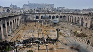 صور حديثة للجامع الأموي.. دبابات وجنود ودمار