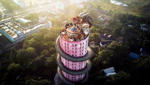 لماذا يلف تنين عملاق هذا المعبد في تايلاند؟