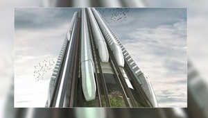 اركبوا قطار السماء.. هل يمكن أن نرى قطارات على ناطحات السحب قريباً؟