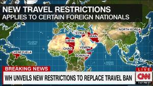أمريكا: قيود على سفر رعايا 8 دول بينها إيران وليبيا وسوريا واليمن