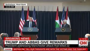 ترامب يتعهد لعباس بالعمل للسلام: الملك سلمان رجل حكيم جدا
