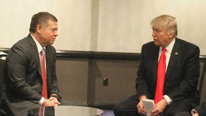 العاهل الأردني يلتقي ترامب في واشنطن