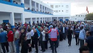 صور من الانتخابات التونسية
