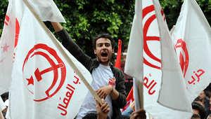 جانب من إحدى المظاهرات في تونس