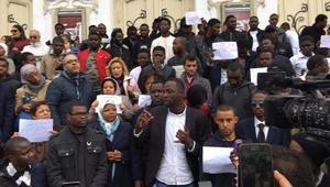 الطلبة الأفارقة الأجانب بتونس يحتجون ضد العنصرية