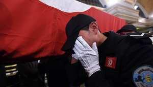 أعلنت وزارة الداخلية التونسية أن الهجوم الانتحاري