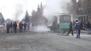 المشاهد الأولية لانفجار سيارة بتركيا