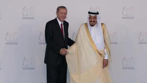 """أردوغان يناقش """"غصن الزيتون"""" مع الملك سلمان وترقب لزيارة ولي العهد"""