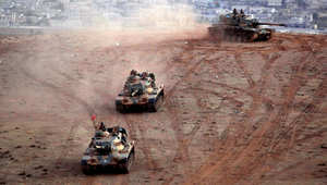 """قرابة 200 آلية عسكرية تركية نفذت عملية """"سليمان شاه"""" بسوريا.. أنقرة تتمسك بأراضيها وإيران تستنكر """"العدوان"""""""