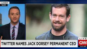 Twitter names Jack Dorsey Permanent CEO