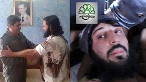 """معارضون سوريون يؤكدون بالصور ارتباط أمير داعش في دمشق بنظام الأسد.. وأنصاره يشيرون لـ""""تشابه"""""""