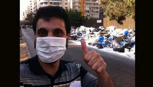 ابتكار لبناني جديد.. سيلفي أمام النفايات