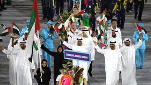 من مباراة إيران والإمارات