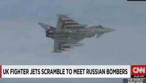مطاردة جوية بين مقاتلات بريطانية وقاذفة روسية قرب المجال الجوي للمملكة المتحدة
