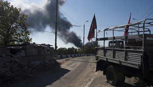 أوكرانيا: قتلى بينهم موظف باللجنة الدولية للصليب الأحمر في قصف على دونيتسك