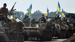 استنفار الجيش الأوكراني شرق البلاد حيث هوجمت إحدى قواعده